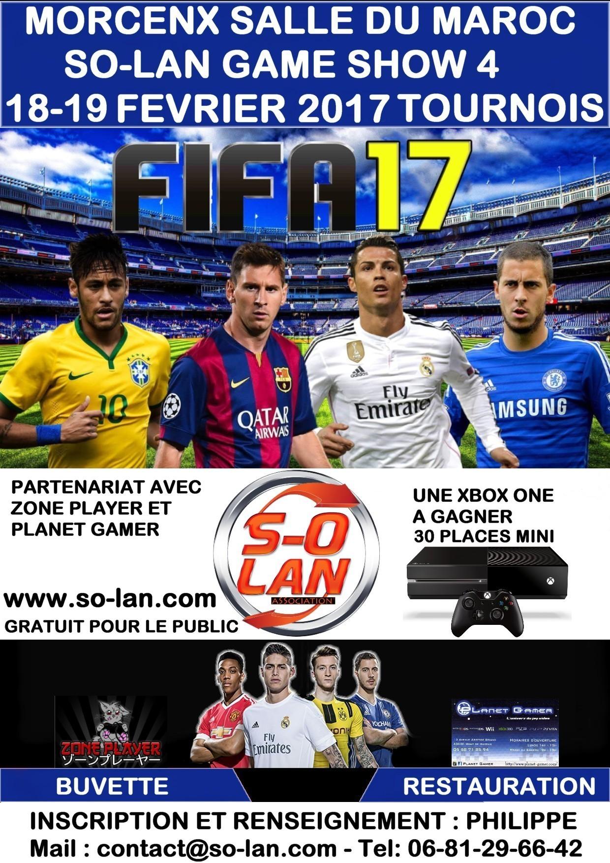 Tournois FIFA 17